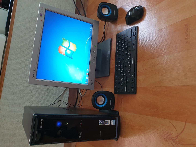 정품 삼성 컴퓨터 +19인치LG 모니터