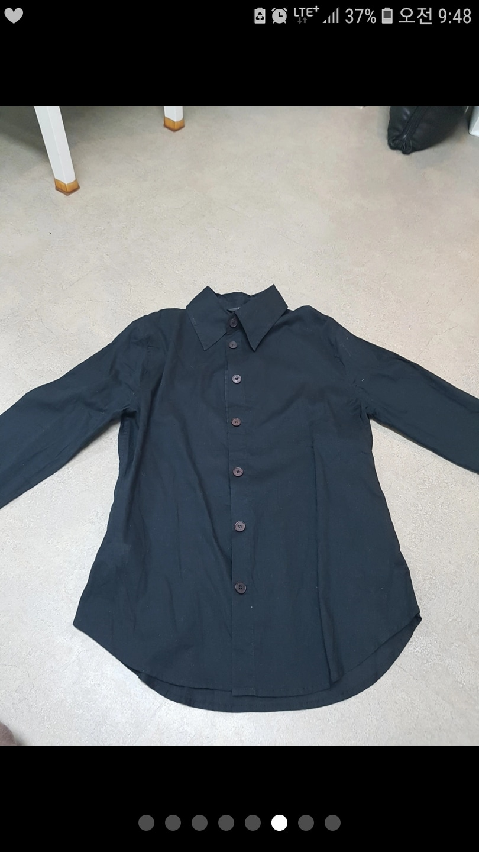 MANGO 망고 블랙 셔츠 판매합니다.