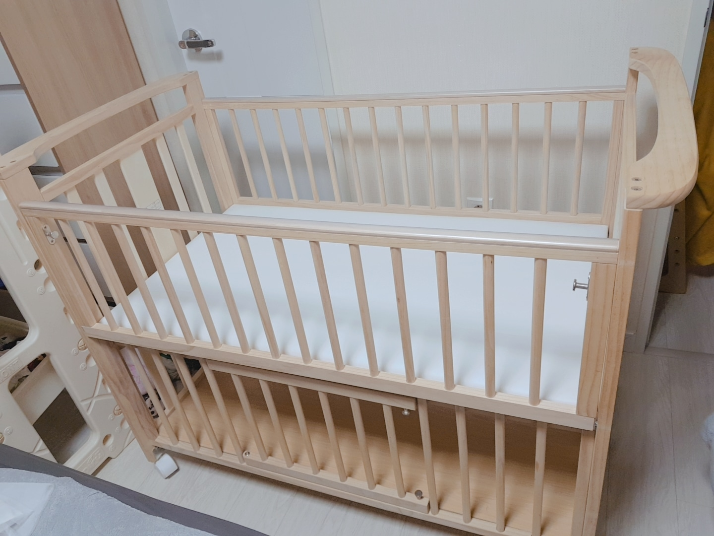 보니스마트유아원목침대(범퍼포함)/아기침대
