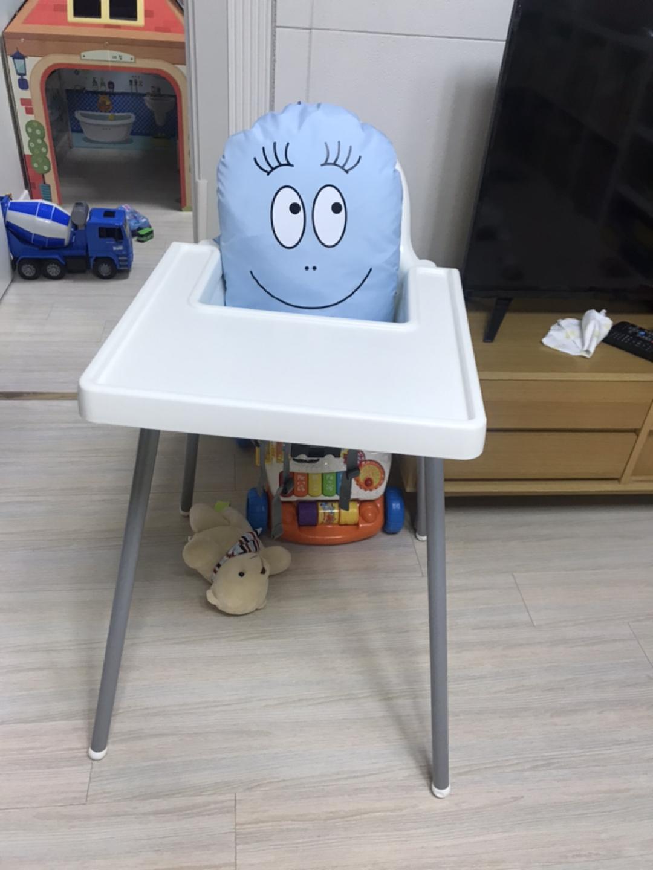 이케아 안틸로프 아기식탁의자+쿠션포함