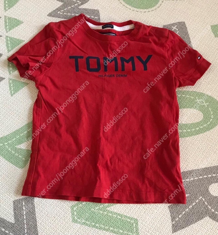 TOMMY Tommyhilfiger 타미 타미힐피거 타미키즈 타미티셔츠 유아티셔츠 아동티셔츠 돌쟁이 두돌쟁이
