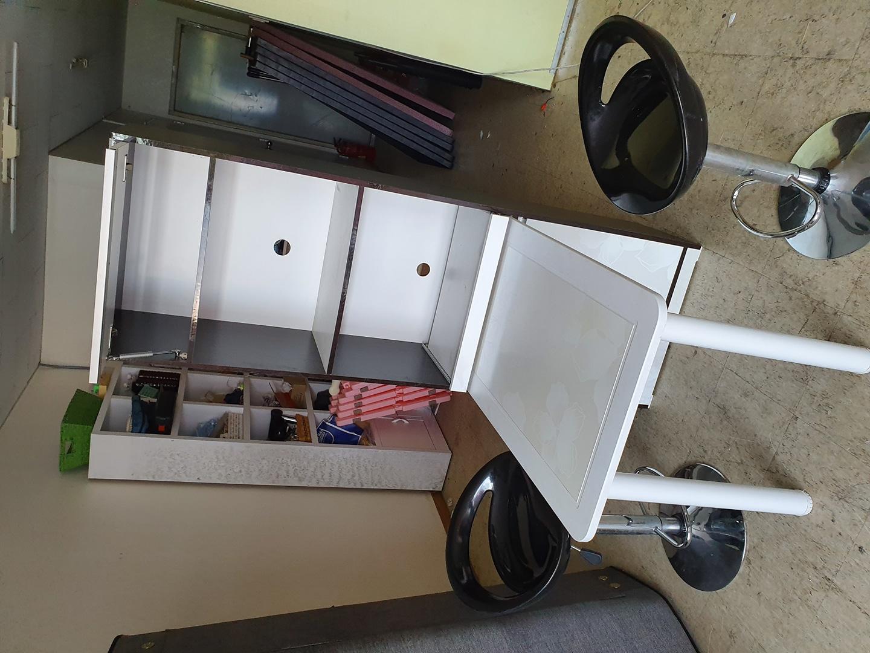 2인용스텐드아일랜드식탁+홈바의자판매