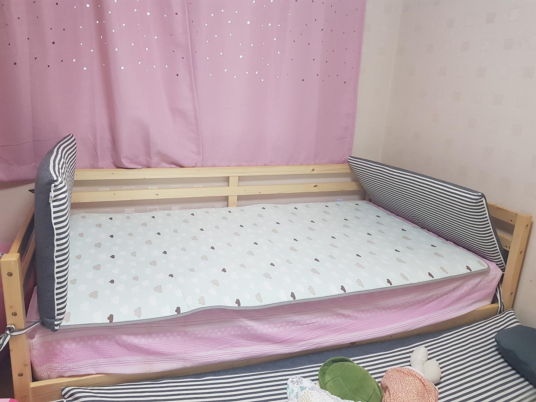 한샘그루데이베드 침대+가드포함