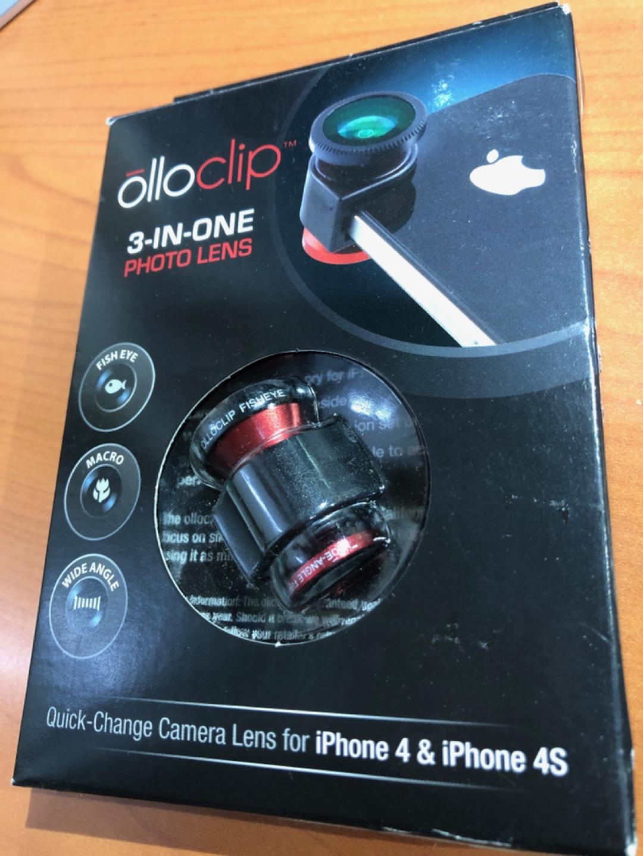(olloclip)3-in-one렌즈 아이폰4,아이폰4s