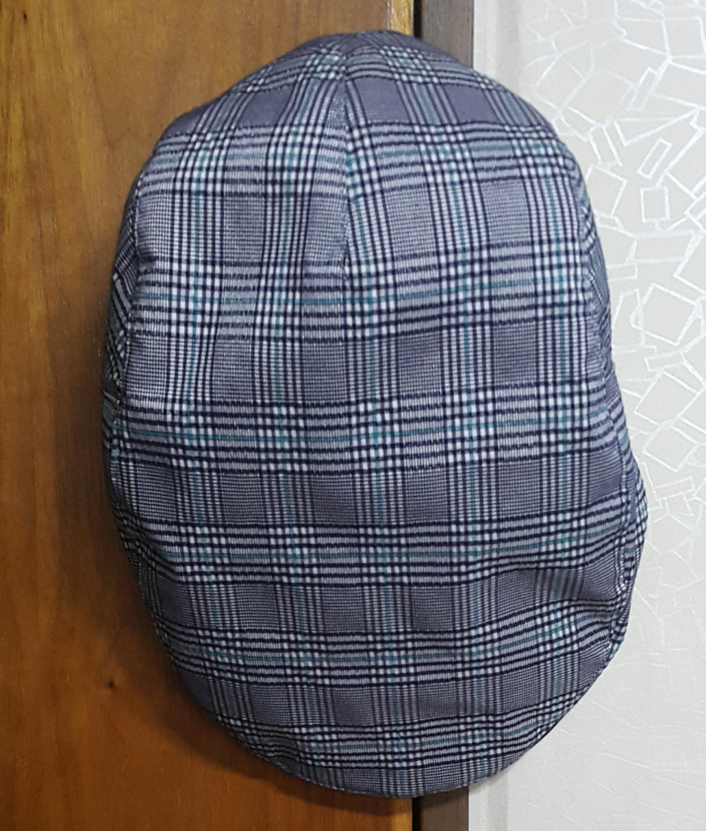 SGF67 남성 골프웨어 (봄.여름.가을.)남성 체크무늬 모자 팝니다.