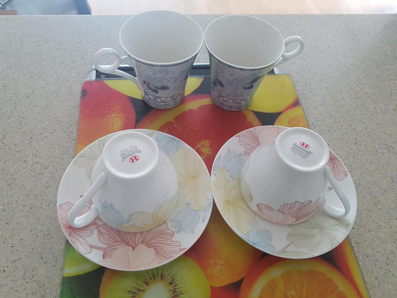 한국도자기 커피잔&행남자기 커피잔