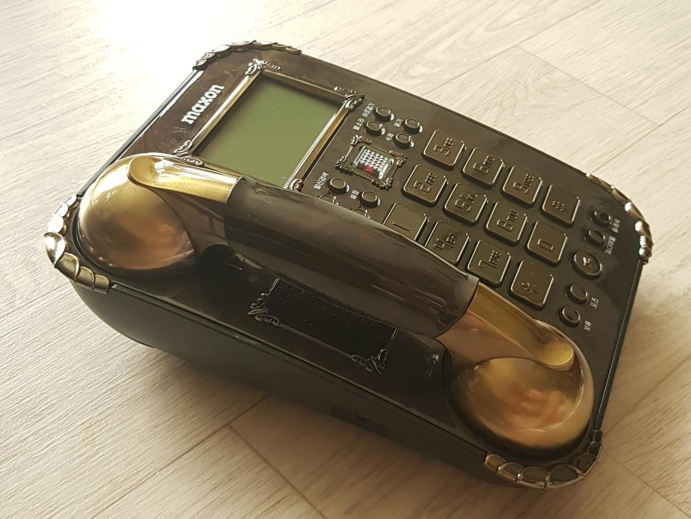 맥슨 전화기MS-560