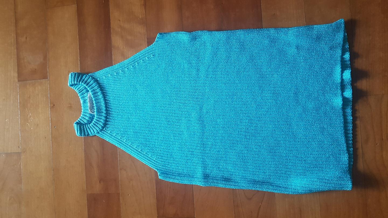 홀터넥 여름 스웨터