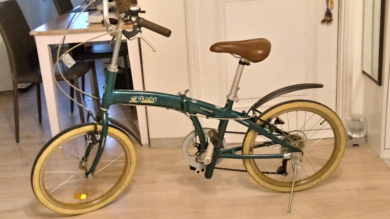 삼천리 미니벨로. 자전거