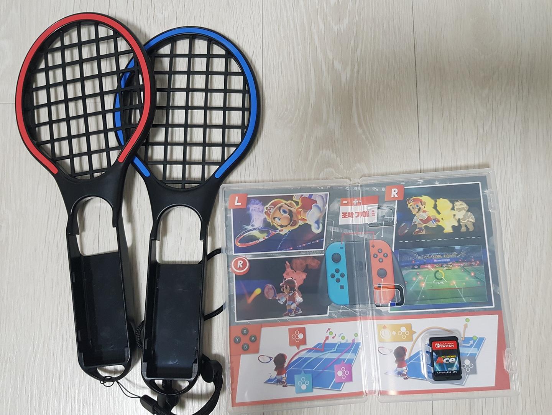 닌텐도 스위치 마리오 테니스 에이스 라켓 세트