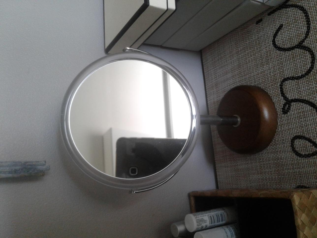까사미아 우드 미니 거울