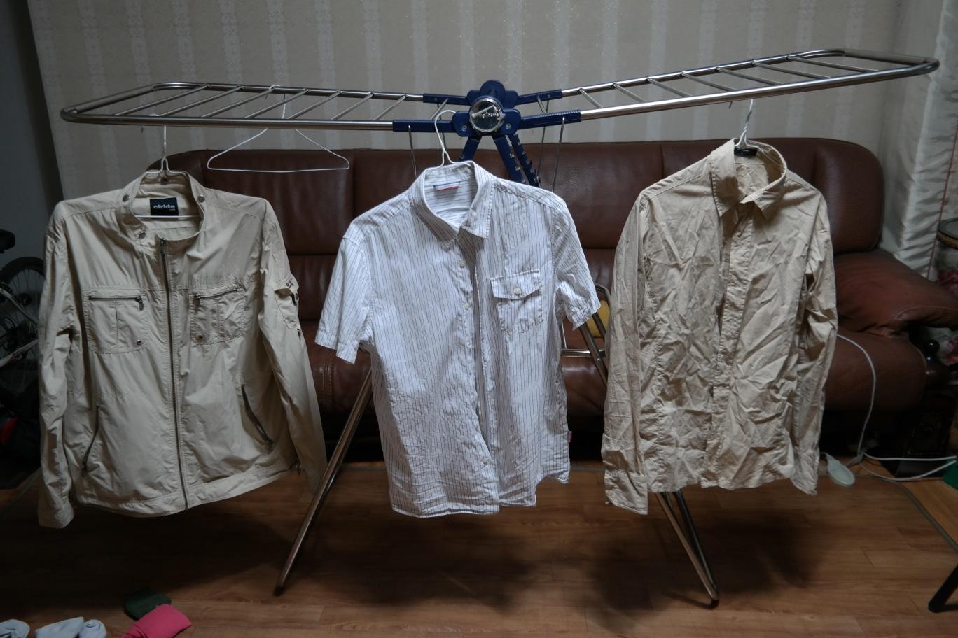 [중고 옷 처분] 20대 남성 - 와이셔츠, 니트, 봄/가을 자켓, 라운드 넥 티셔츠