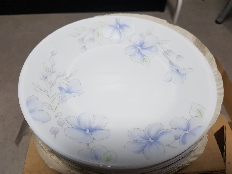 코렐 lapinue 보라꽃접시12p ×3세트 소형(17cm)