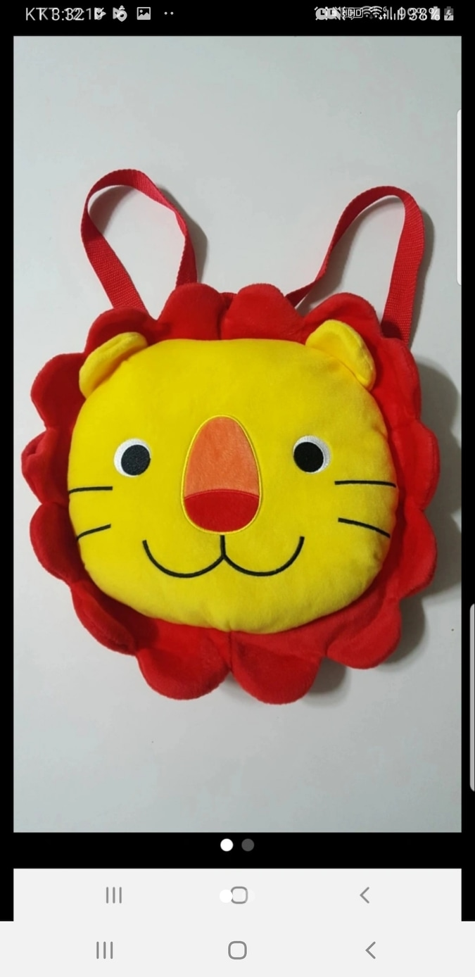 애플비 사자 가방