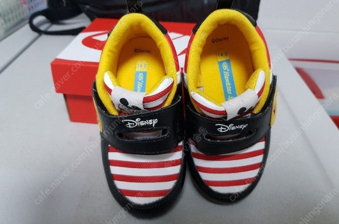 미키마우스 신발 (사이즈 140)
