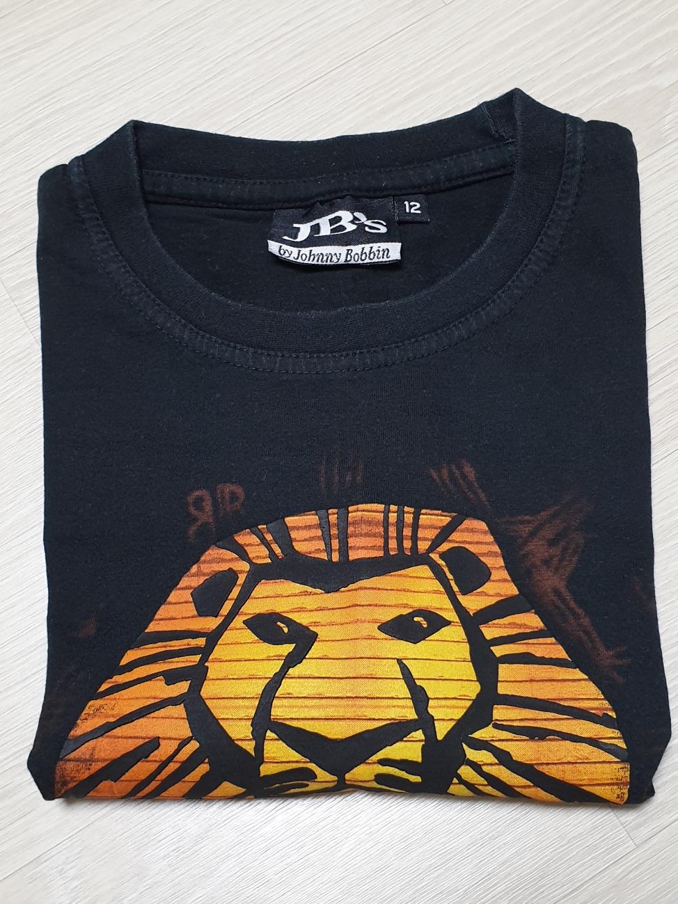 (가격내림)라이온킹 뮤지컬 티셔츠(12세)