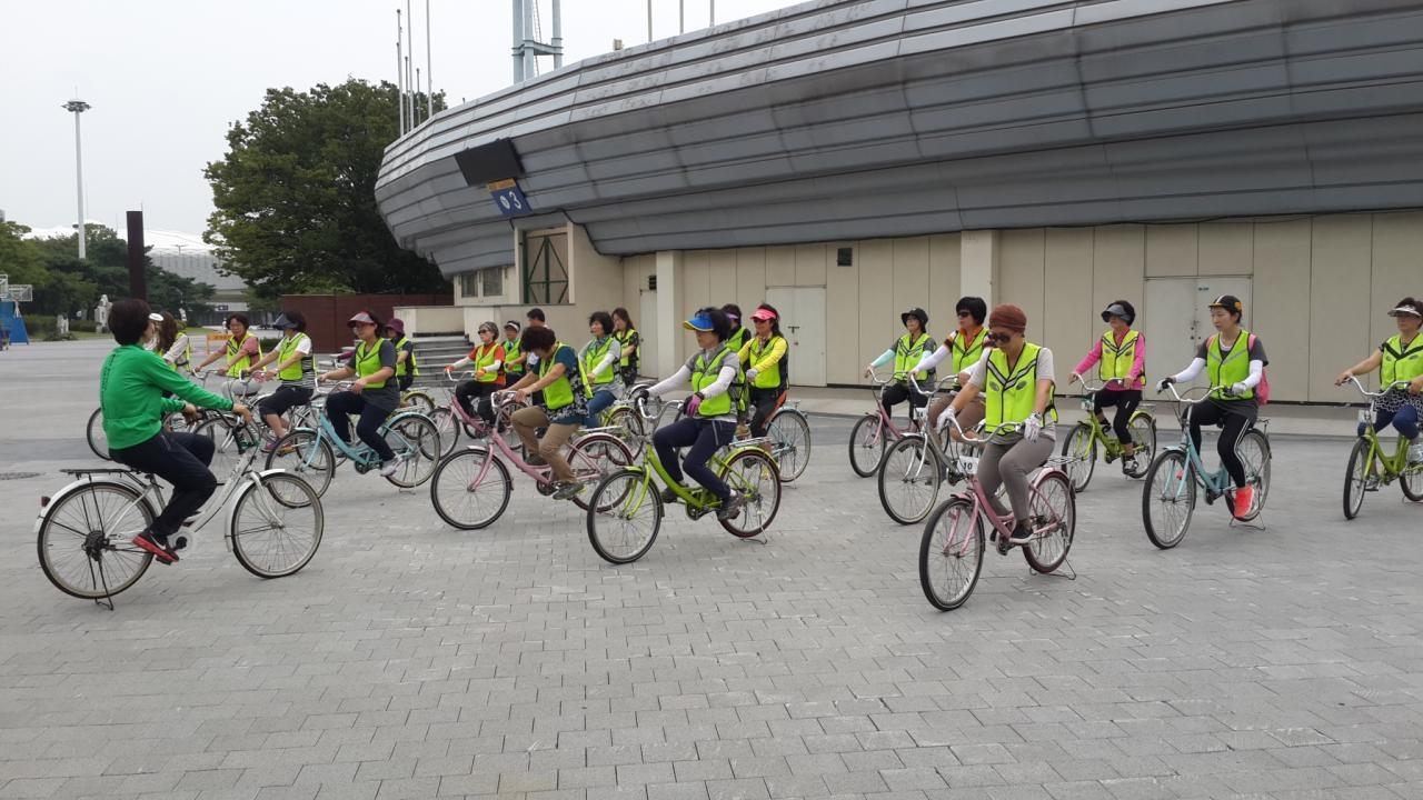 자전거 초보자교육