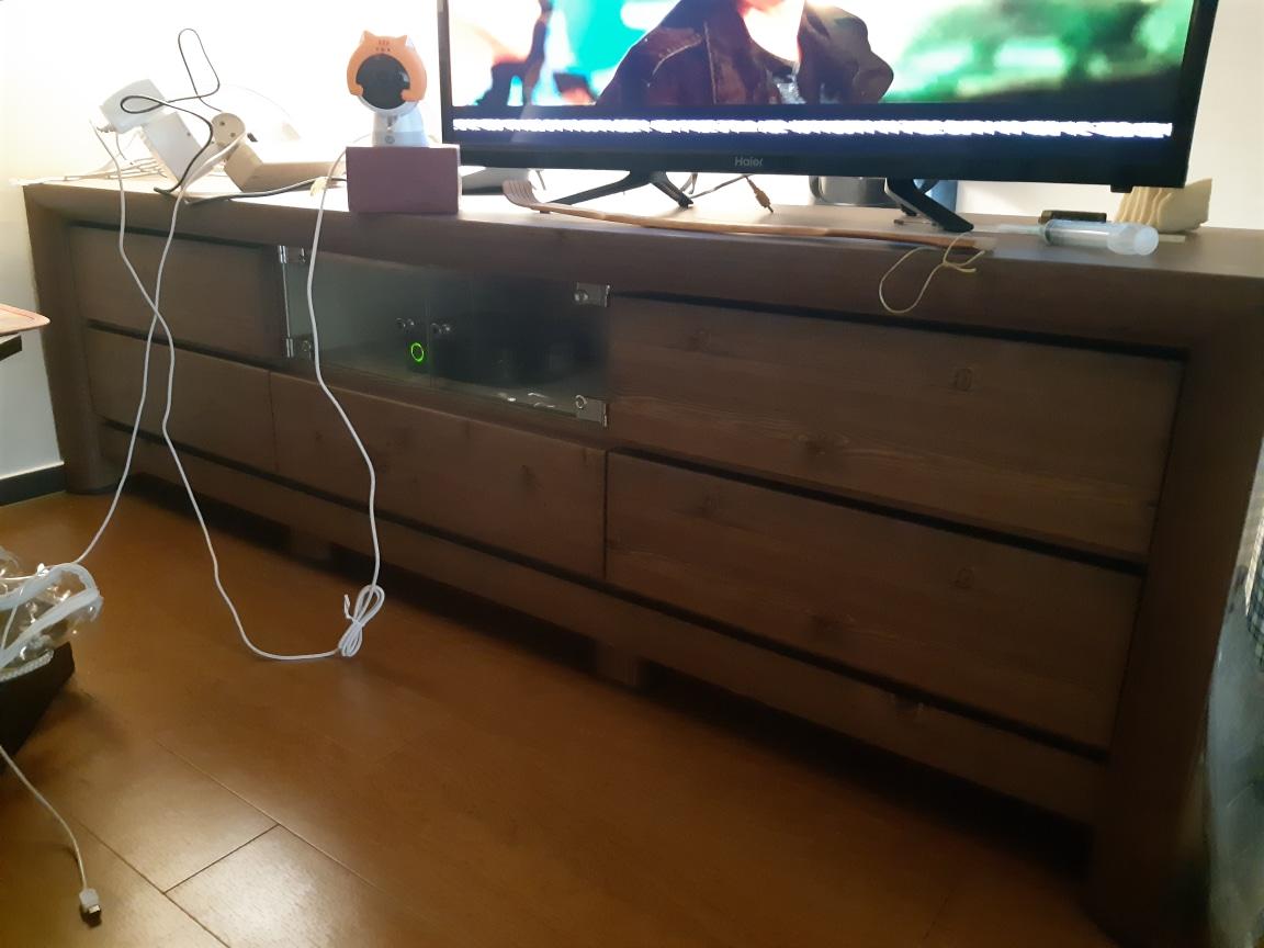 티비  선반  서랍장