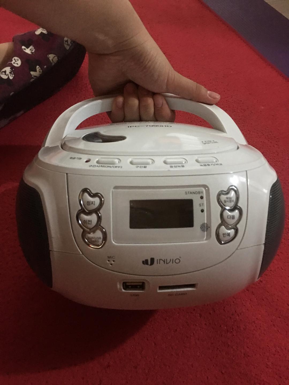 라디오 cd player . usb