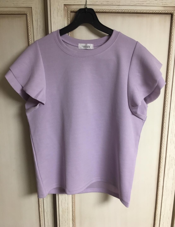 퍼플 티셔츠(새상품)