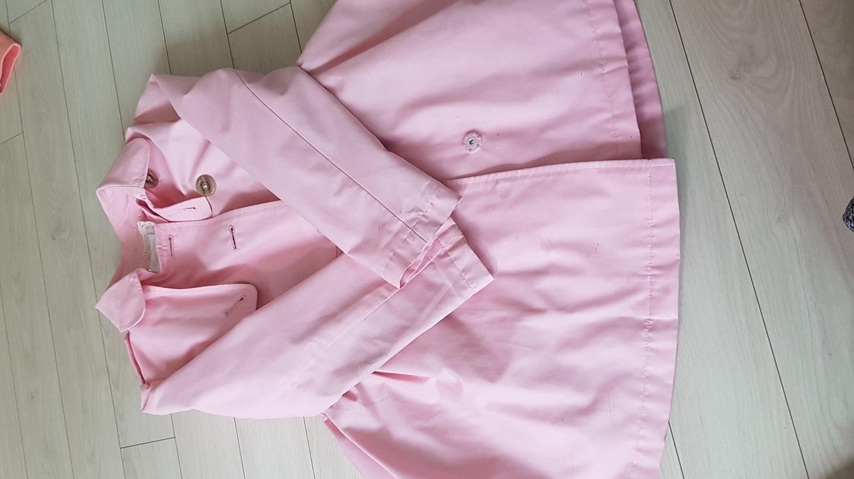 핑크 트렌치코트 (로엠걸즈130호)