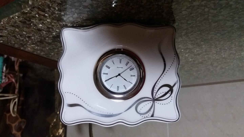 이쁘고 우아한 한국도자기시계