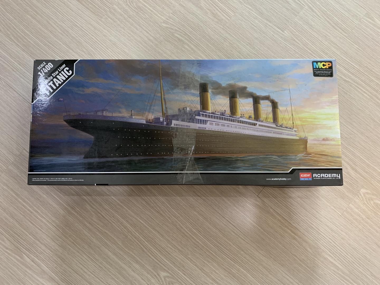 타이타닉호 배조립 프라모델