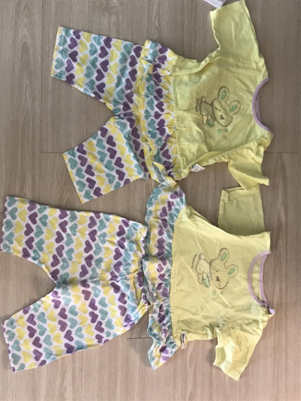 여름 아기옷