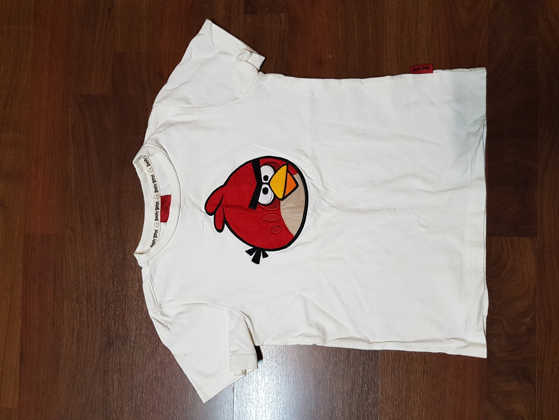 앵그리버드 티셔츠.7사이즈