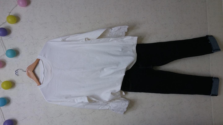 (새상품)펀칭원피스겸면티셔츠