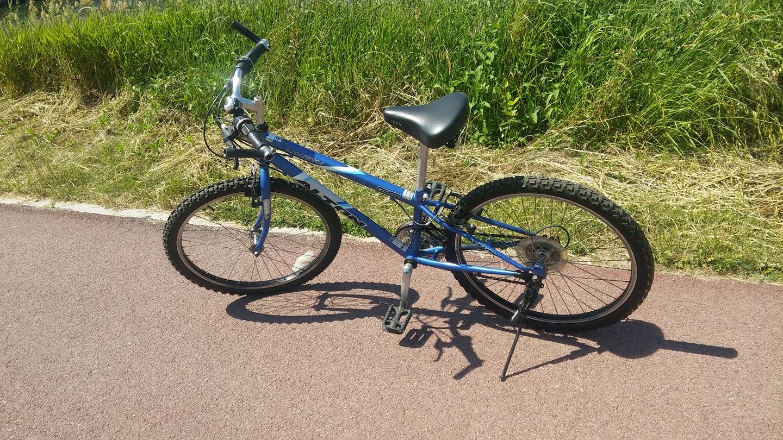 21단 유아의자 설치가능 자전거