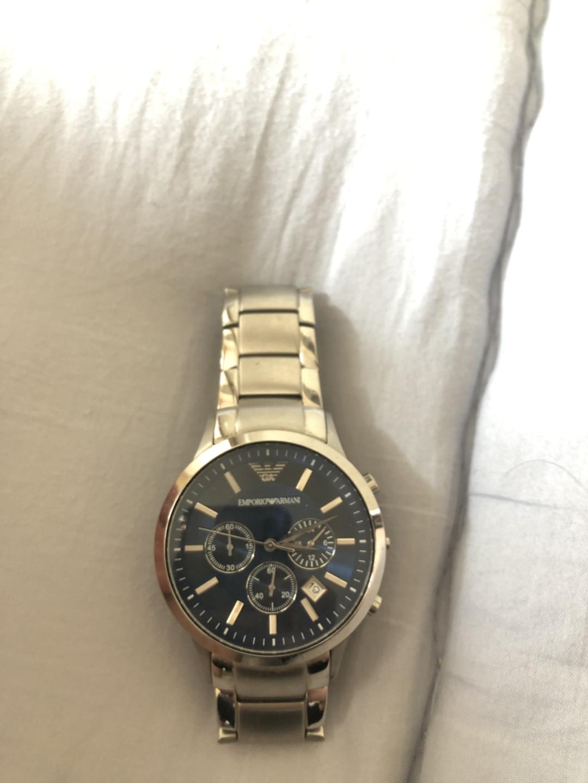 정품 알마니ar2448 시계판매합니다
