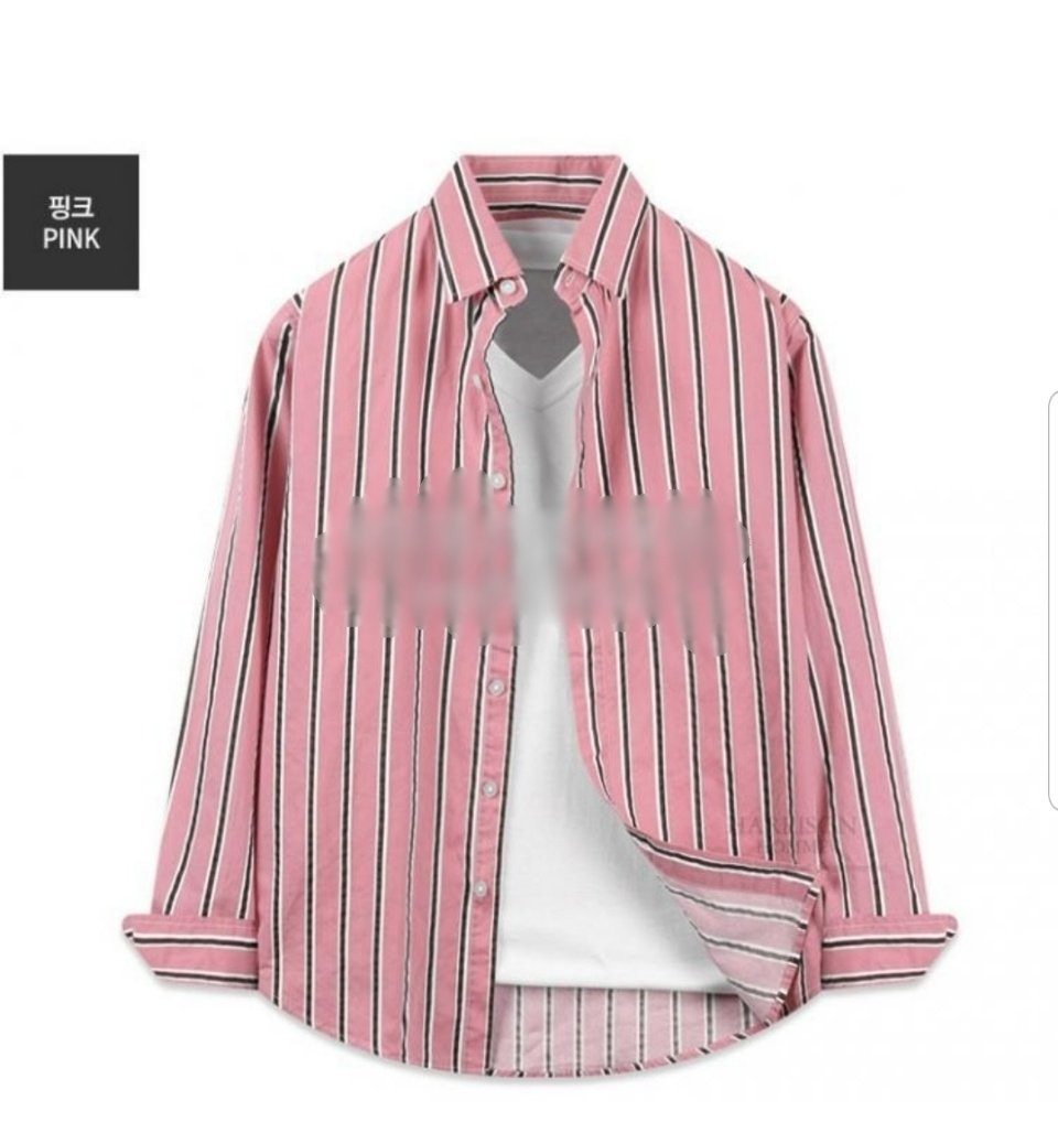 새상품)스트라이프 줄지셔츠 남녀공용 💖