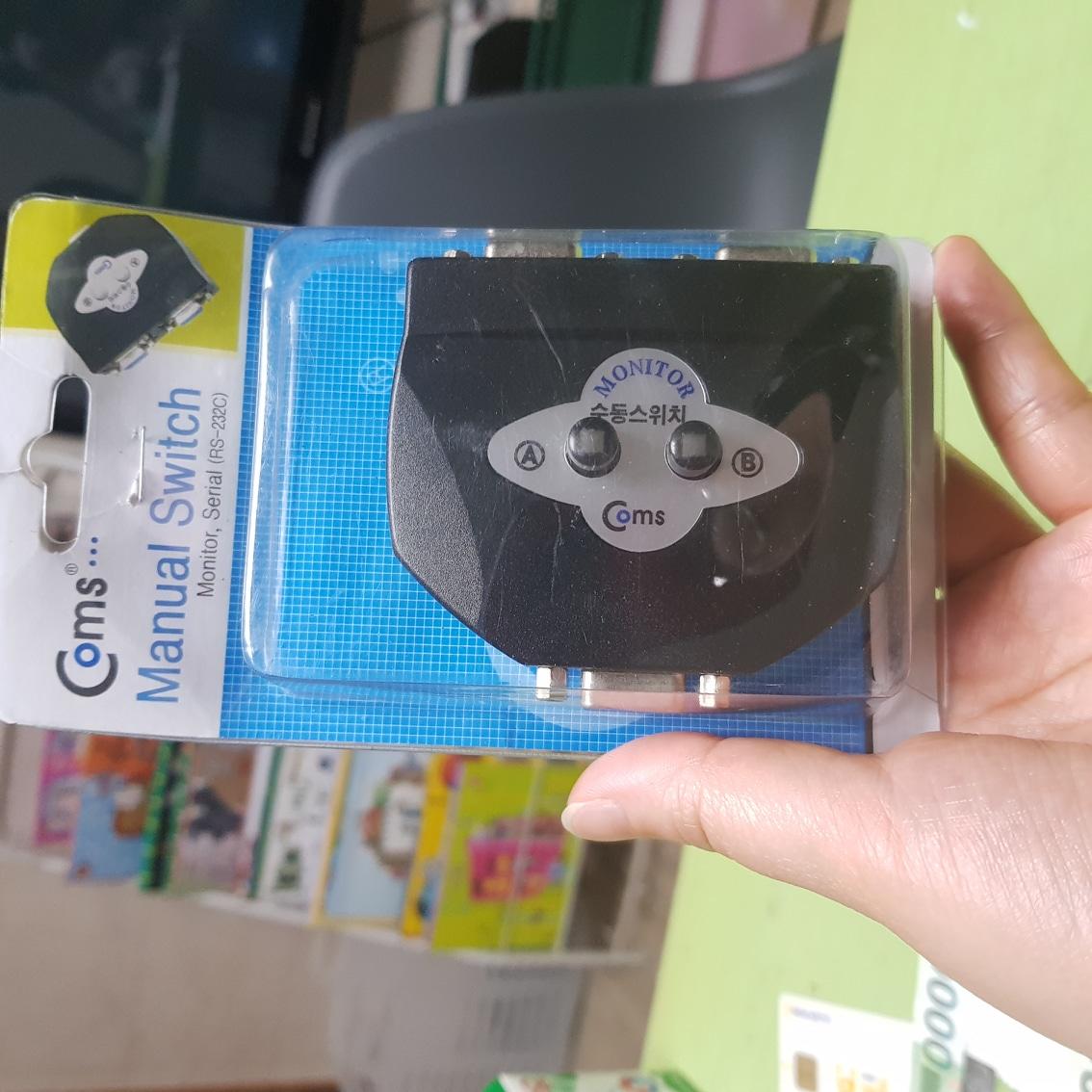 Coms 모니터 선택기 2대1 (switch MM21)