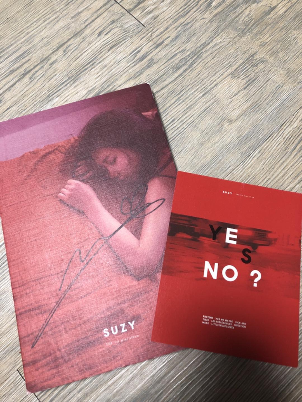 수지 1집 솔로앨범/사인앨범