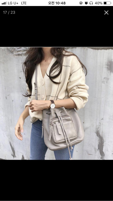 [새상품] 여자가방/가방/클러치백/도트백/가죽가방/검정가방