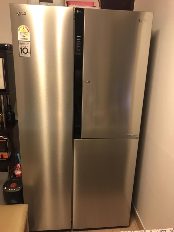 엘지 세미 빌트인 냉장고 모델명 s646ss34