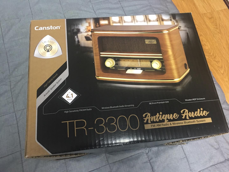 레트로 감성 스피커 캔스톤 TR-3300 블루투스 스피커 판매