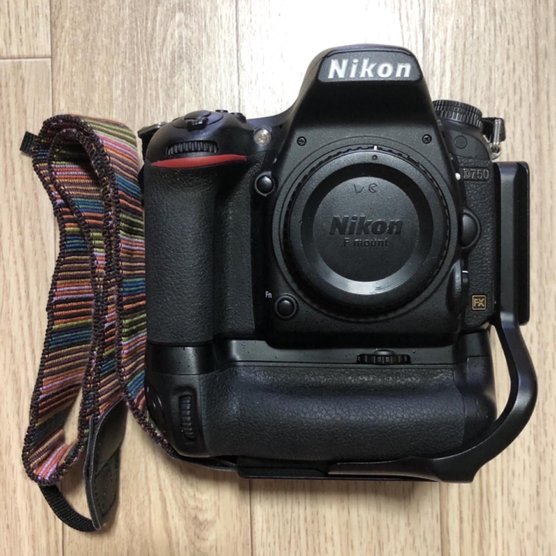 니콘d750 + 정품세로그립 + 엘플레이트
