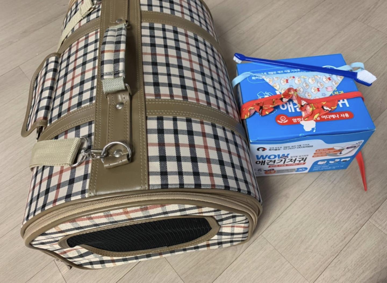 이동가방 칫솔 기저귀패드(남아용) 스카프2개