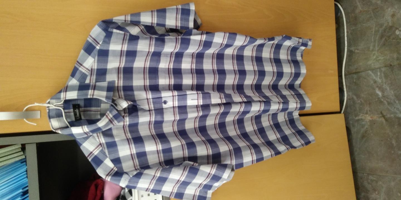 110 반팔 카라 셔츠