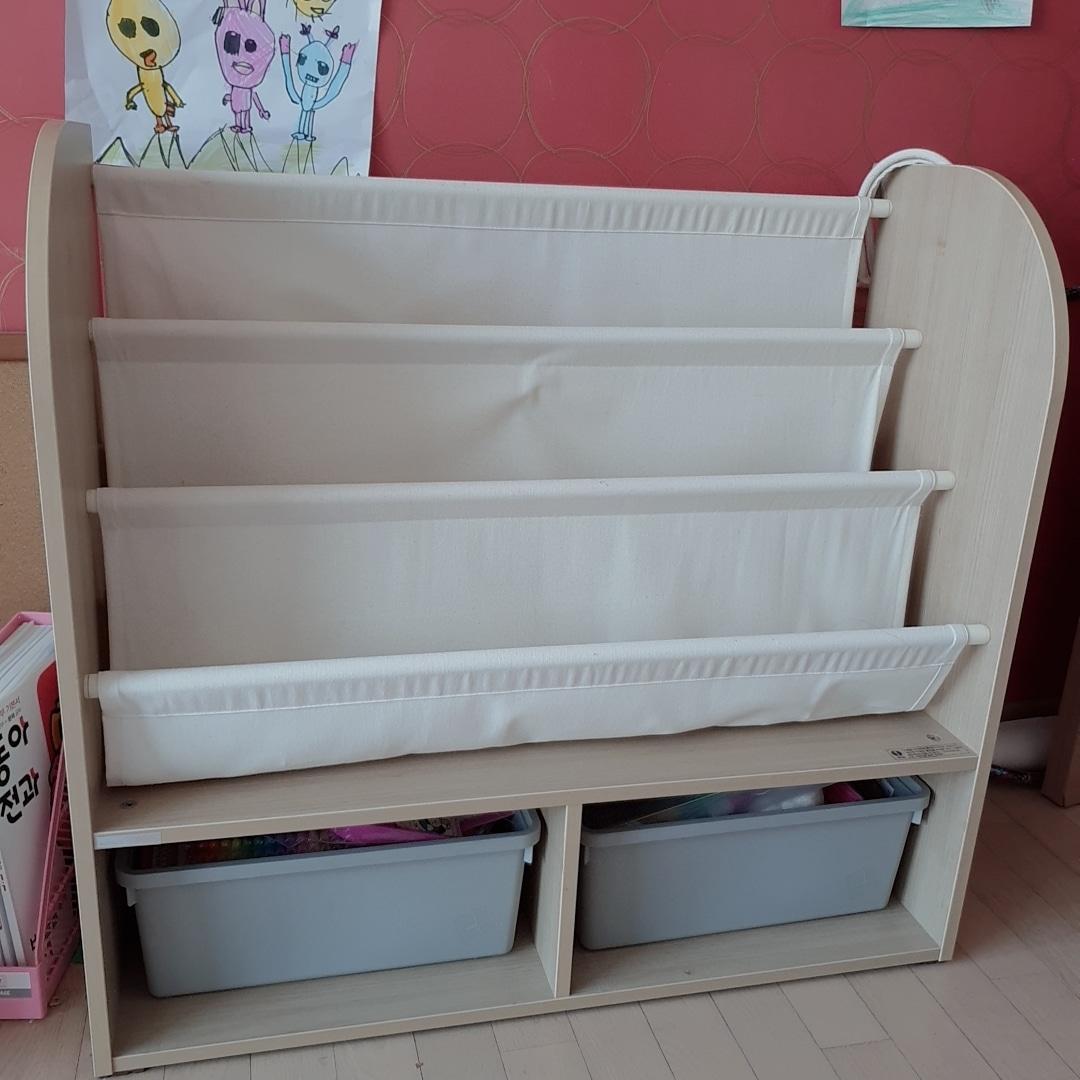 한샘 유아 전면책장