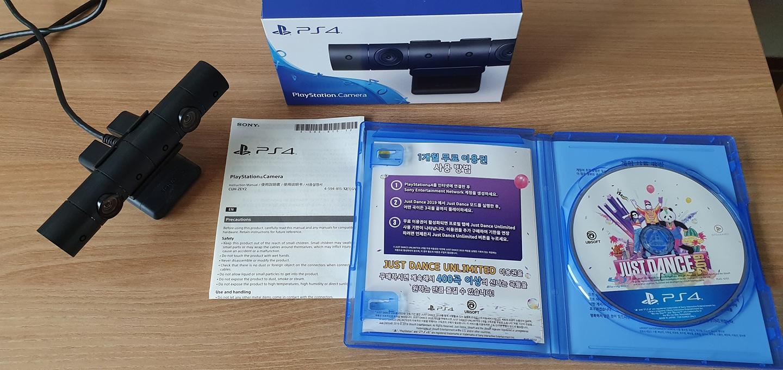 PS4 저스트댄스 2019 (한글판) 및 PS4 신형카메라 팝니다.
