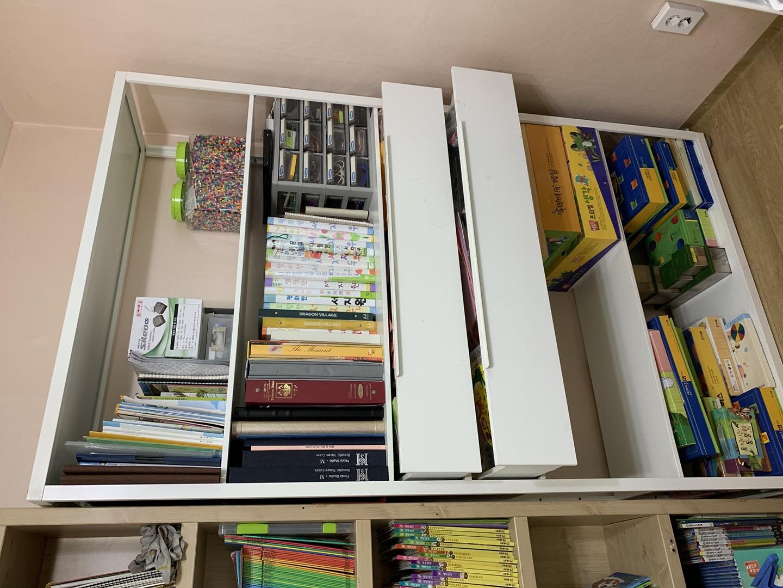 이케아 책장(판매완료)과 5단책장 각각 35,000
