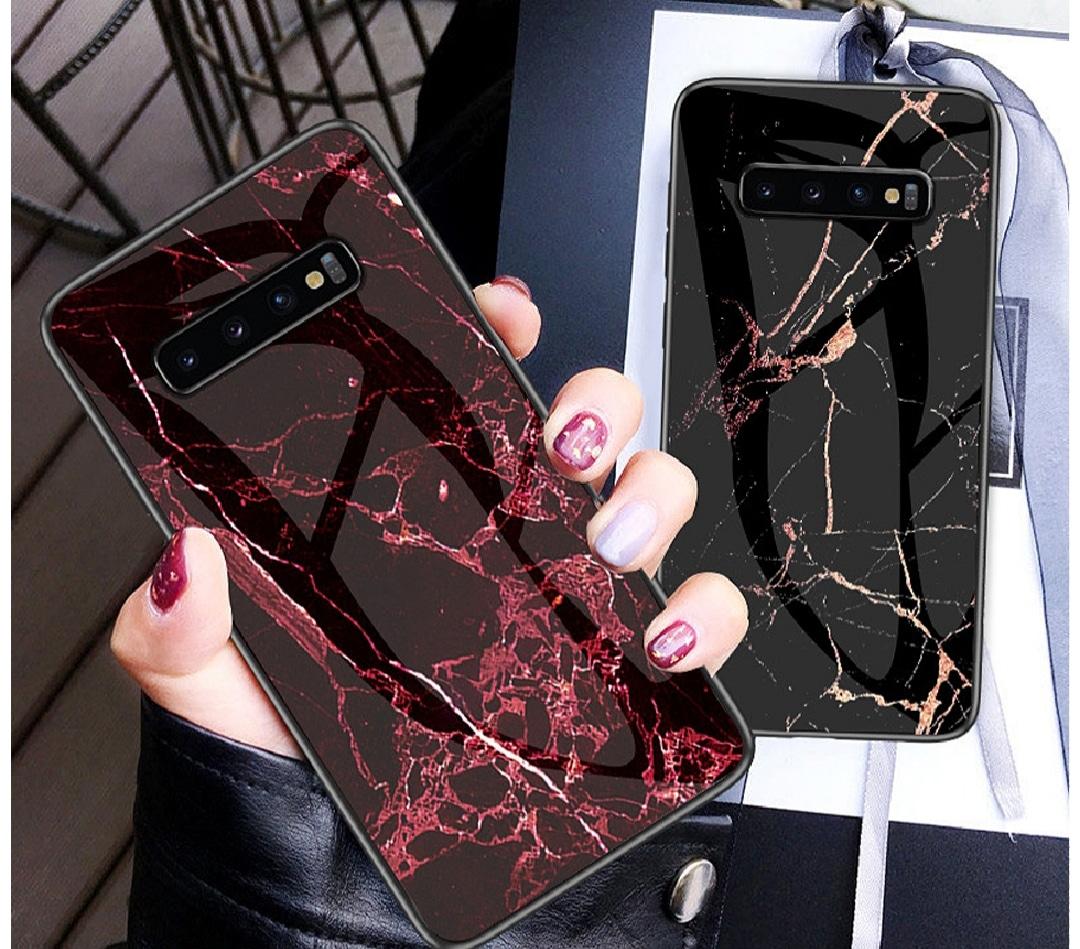 갤럭시s10/s10+ 갤럭시유광마블대리석휴대폰케이스 ♡
