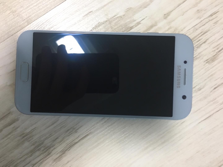 갤럭시A5 32기가 하늘색 정상해지폰