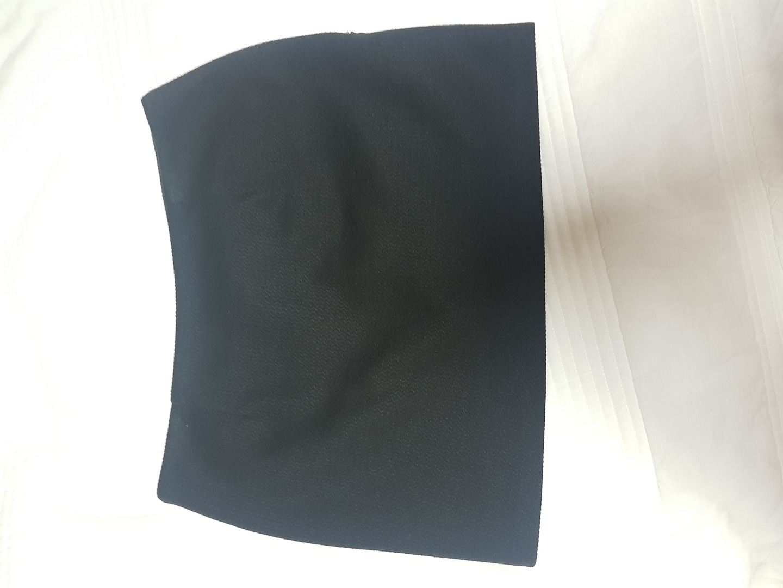 블랙 미니스커트