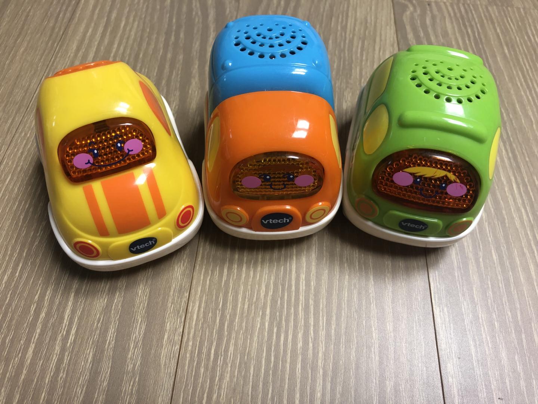 브이텍 뛰뛰빵빵 드라이버 미니 자동차 3종 멜로디완구
