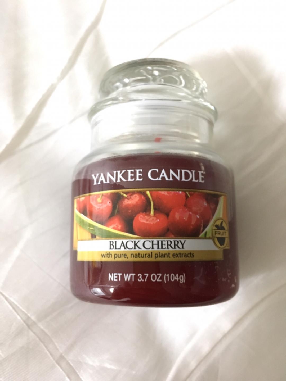 양키캔들 black cherry 104g