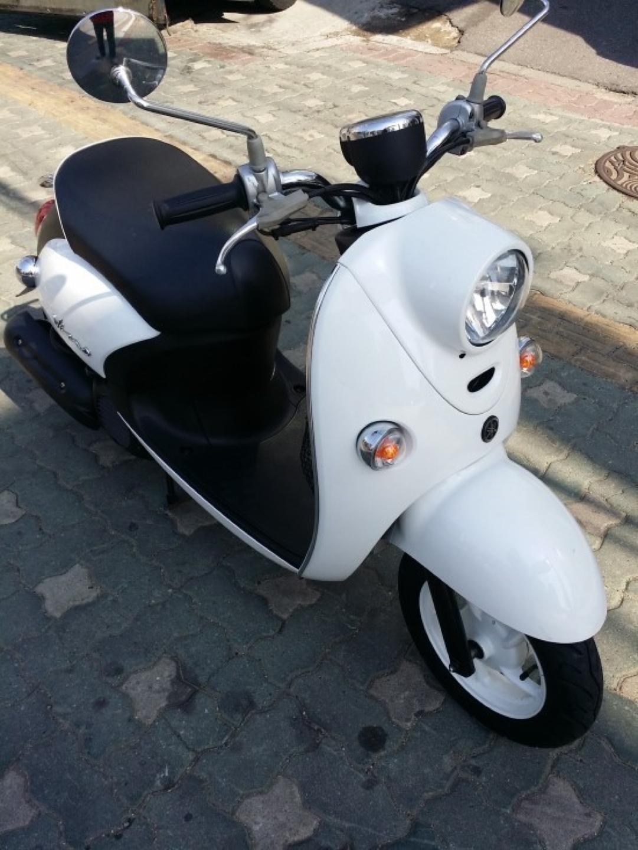 야마하 비노 50cc 센터 제품 풀 서류 스쿠터 오토바이